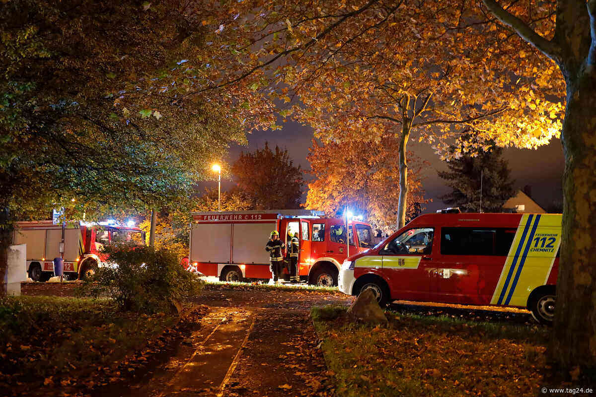 Chemnitz: Mehrere Feuerwehr-Einsätze im Heckertgebiet - TAG24