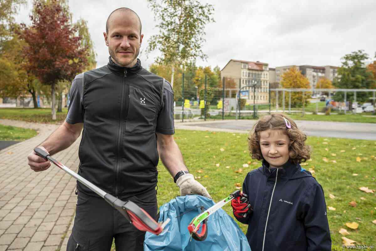 Tolle Aktion in Chemnitz! Bürger sammeln Müll im Konkordiapark - TAG24