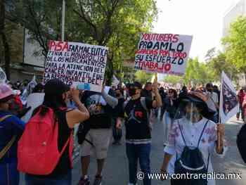 Marcha pro AMLO del Ángel de la Independencia al Zócalo - ContraRéplica