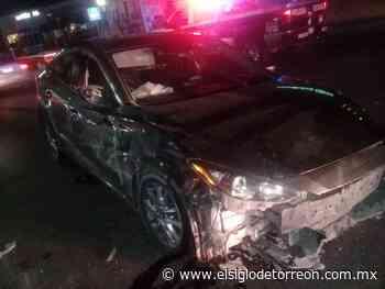 Ebrio al volante provoca choque-volcadura en el Independencia de Torreón - El Siglo de Torreón