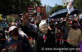 Alistan marcha pro AMLO en las inmediaciones del Ángel de la Independencia   El Universal - El Universal