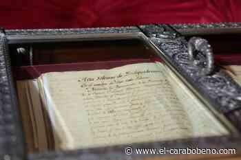 Hace 113 años fue localizada en Valencia el Acta de la Independencia de Venezuela que se había extraviado - El Carabobeño