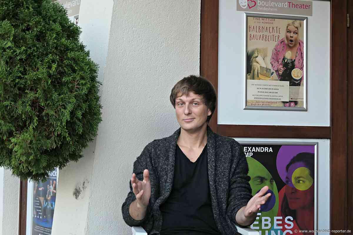 BriMel trifft: Theaterdirektor und Comedian Boris Stijelja in Nöten - Wochenblatt-Reporter