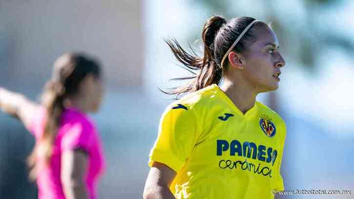 Rubí Soto ya debutó con el Villarreal Femenino