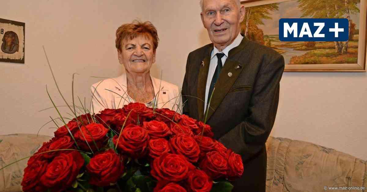 Luckenwalde: Hilly und Harald Förster feiern diamante Hochzeit - Märkische Allgemeine Zeitung