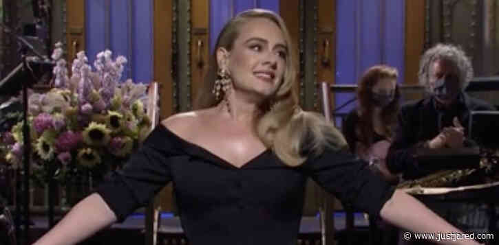 Adele Addresses Weight Loss & Status of Upcoming Album in 'SNL' Monologue!