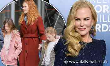 Nicole Kidman reveals reason why she was 'FIRED' by her daughters Sunday, 12, and Faith, 9
