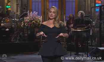 'This is just half of me': Adele flaunts her incredible weight loss on SNL