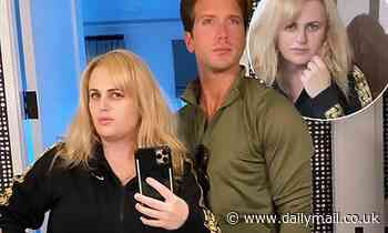 Rebel Wilson shows off her sensational weight loss as she poses with new boyfriend Jacob Busch