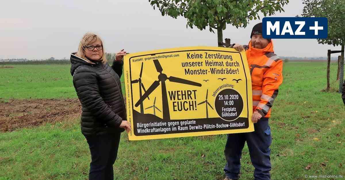 Bürgerinitiative gegen Windräder am Obstpanoramaweg in Werder gegründet - Märkische Allgemeine Zeitung