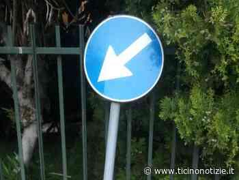 Magenta: segnala un cartello rotto due anni fa e nessuno è mai intervenuto - Ticino Notizie
