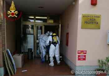Covid nella casa protetta a Rubiera: i Vigili del Fuoco specializzati hanno sanificato i locali - Next Stop Reggio