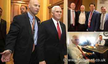 FIVE of Mike Pence's aides test positive for COVID