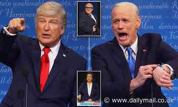 Trump says 'I can never die after COVID' and Biden 'promises Obamacare with sunscreen' on SNL