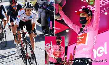Australian cyclist Jai Hindley closes in on major victory in Giro d'Italia