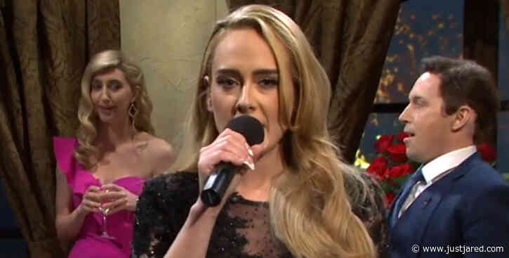 Adele Sings Her Hits While Competing for Love in 'Bachelor'-Themed Sketch on 'SNL' - Watch!