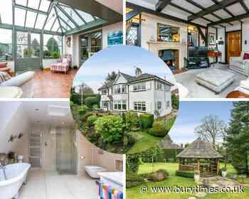 PICS: Inside the £775k Art Deco-style Bury home