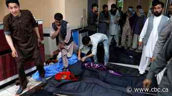 Dozens killed in suicide bombing at Afghan education centre