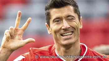 Lewandowski hat-trick inspires Bayern - Blue Mountains Gazette