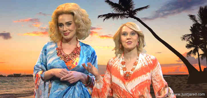 Adele Can't Stop Laughing During 'SNL' Sketch with Kate McKinnon - Watch!