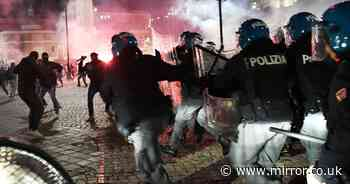 Second night of Covid lockdown riots in Italy as protesters clash with police