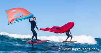 Martigues : le wingfoil survole les plages - La Provence