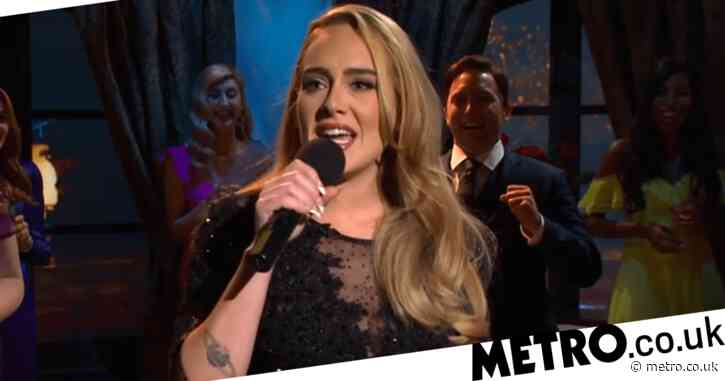Adele teases album update as she belts out her hit songs on Saturday Night Live