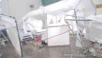 Destroza tromba unidad Covid de hospital en Allende - zocalo.com.mx