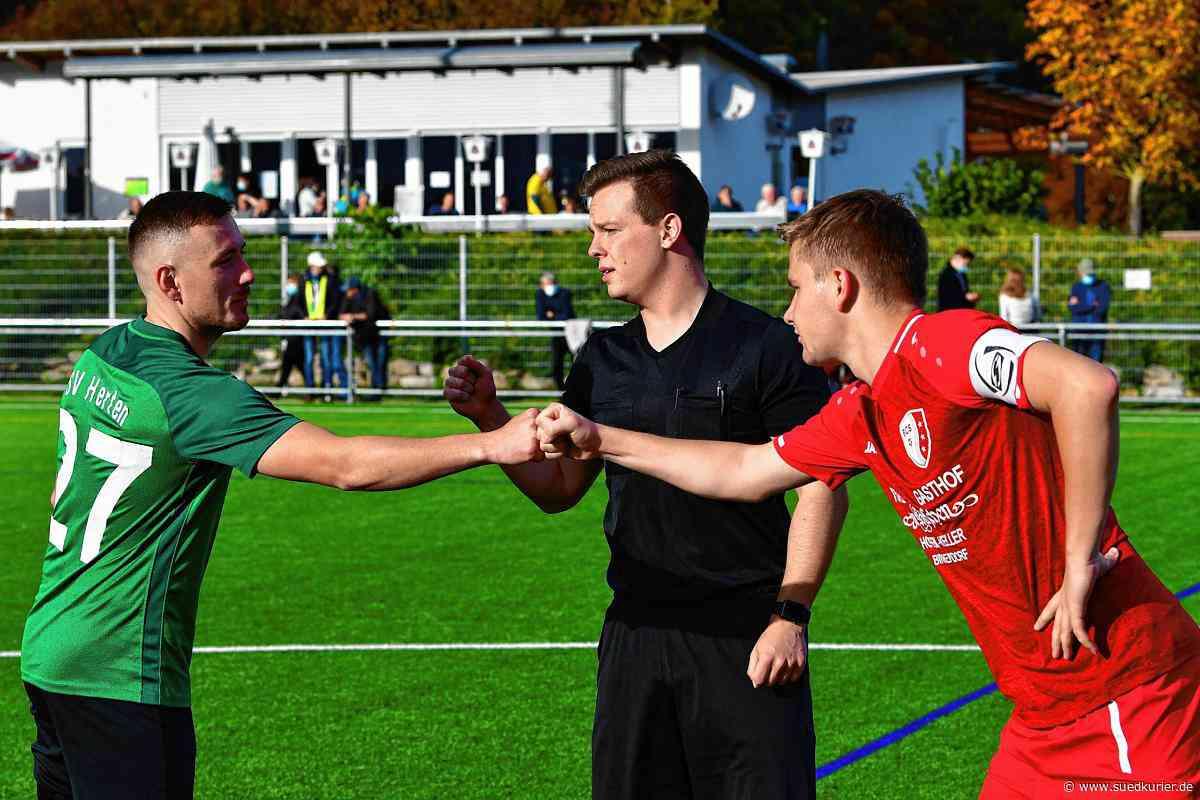 SV Herten - FC Schlüchttal: SV Herten gleicht erst spät gegen den FC Schlüchttal aus – hier gibt es Bilder! - SÜDKURIER Online