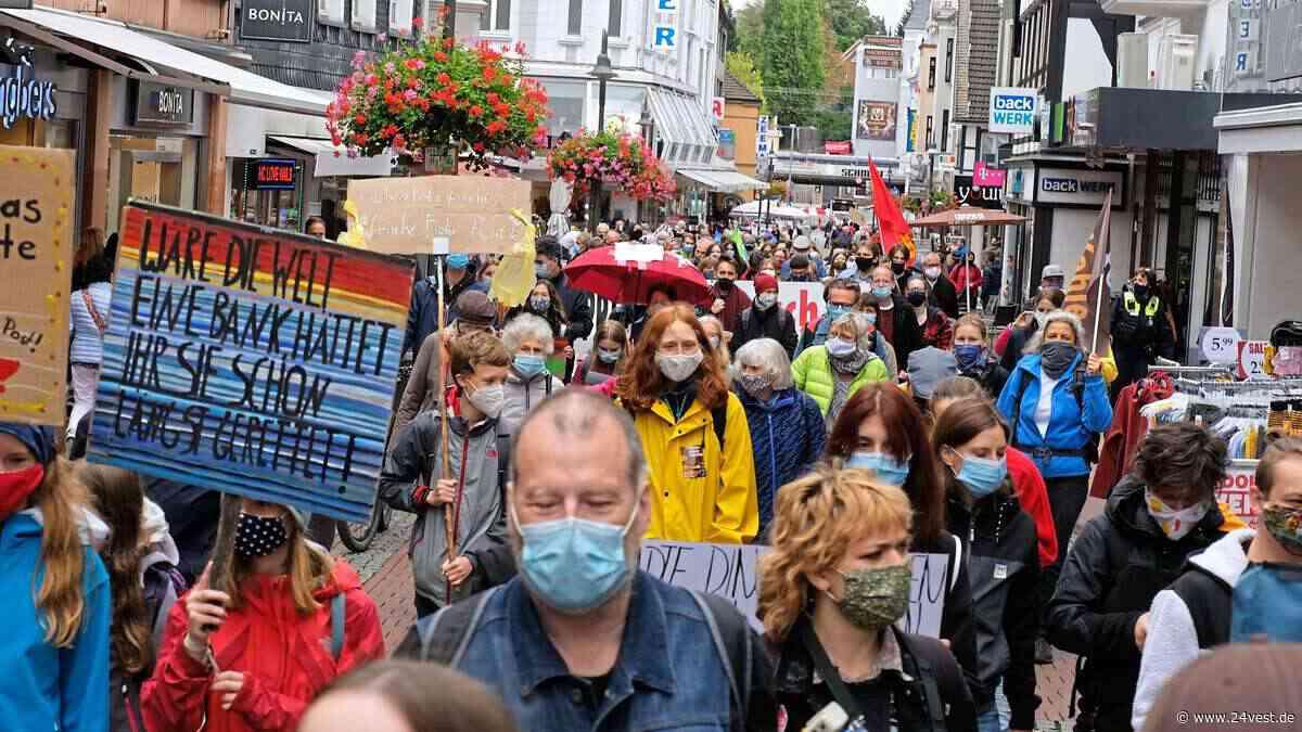 Herten: Klima-Aktivisten demonstrieren auch in Herten - 24VEST