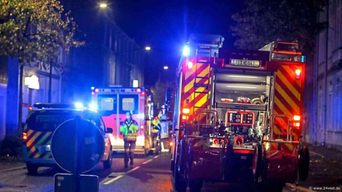 Herten: Wohnungsbrand an der Ewaldstraße gemeldet - 24VEST