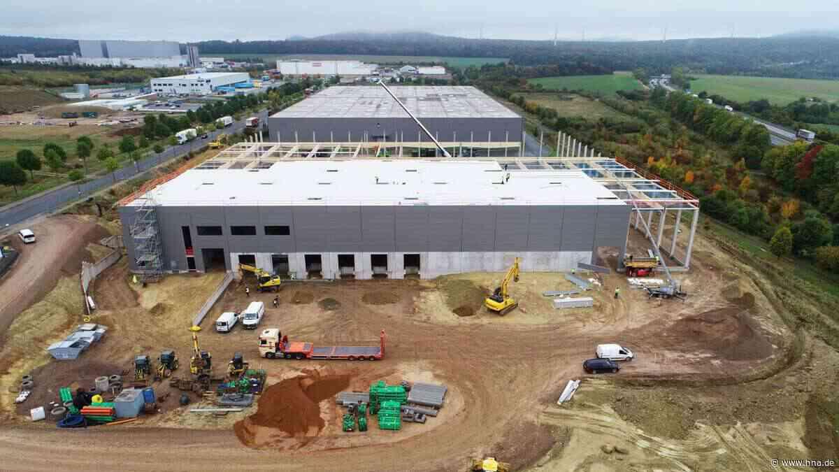Kasseler Unternehmen Fabrikon baut Logistikalle im Hiddeser Feld bei Breuna/Wolfhagen an der A 44 - hna.de