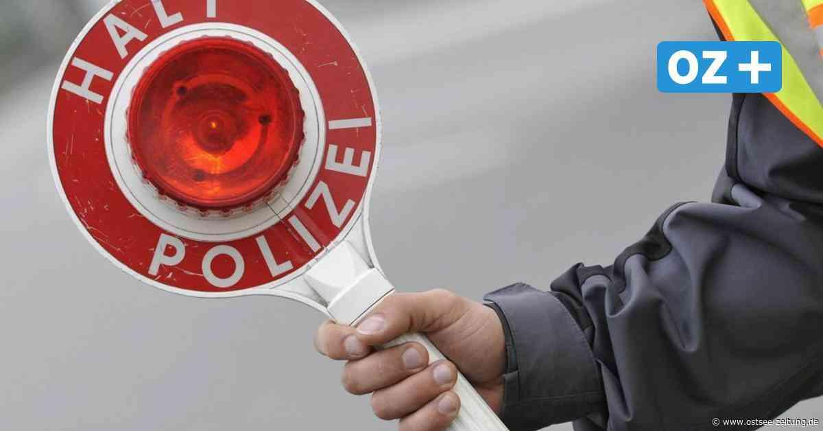 Parchim: Betrunkener Autofahrer flüchtet vor Polizei - Ostsee Zeitung