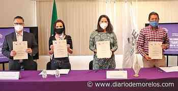 Firman compromiso Ayuntamiento de Emiliano Zapata y el IMIPE - Diario de Morelos