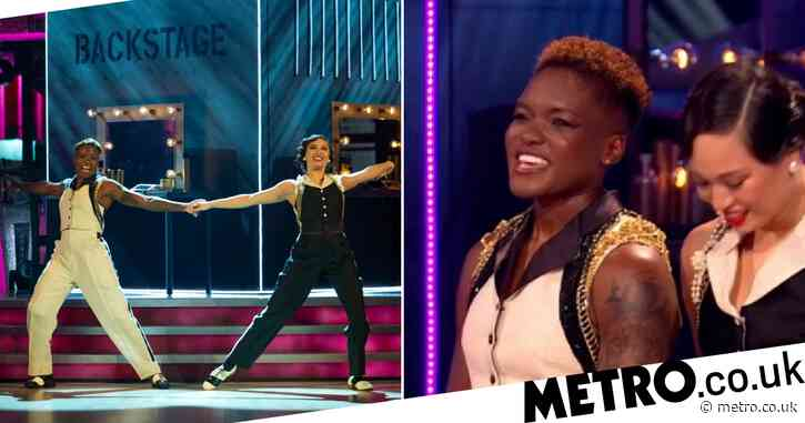 Strictly Come Dancing's Nicola Adams thanks fans for support after making history on show