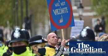 Thousands march in London in fourth anti-lockdown protest - The Guardian