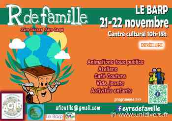 Semaine Européenne de Réduction des Déchets samedi 21 novembre 2020 - unidivers.fr