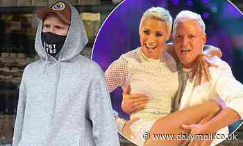 Jamie Laing looks low-key as he steps out the morning after Strictly debut