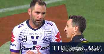 Smith accuses referee of 'making an exciting finish' with controversial sin-binning