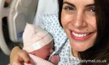 Footballers' Wives star Susie Amy gives birth to daughter Rosie Iris Grace