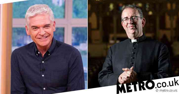 Phillip Schofield jokingly asked out on date by Strictly's Reverend Richard Coles live on radio show