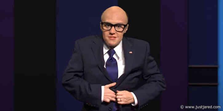 'SNL' Mocks Rudy Giuliani's 'Borat' Controversy & Final Presidential Debate - Watch! (Video)