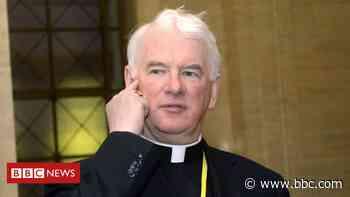 Coronavirus: Bishop Noel Treanor appeals to protect health workers - BBC News