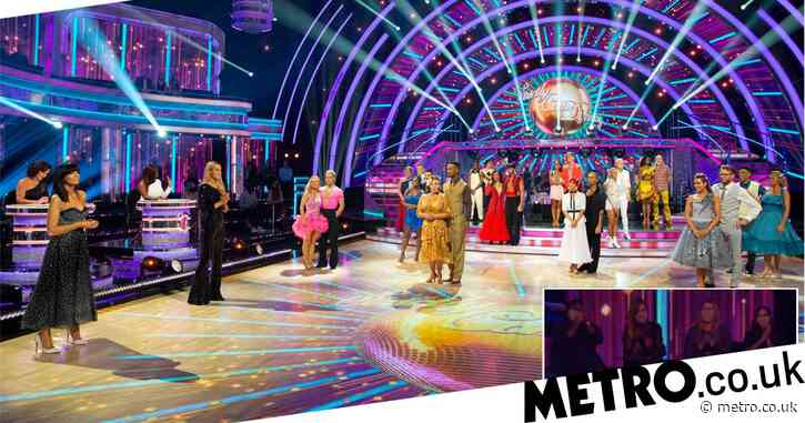 Strictly 2020 pays moving tribute to NHS by inviting frontline workers to first live show