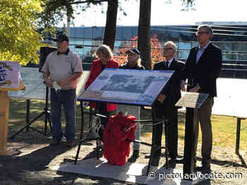 Stellarton unveils panel commemorating a piece of town's past - pictouadvocate.com