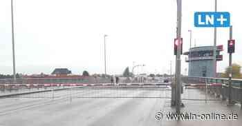 Lübeck: Warburg-Brücke erneut defekt