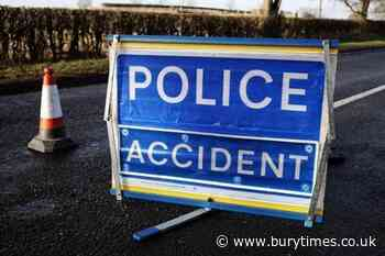 Man dies after crash on M56 hard shoulder between car and maintenance lorry