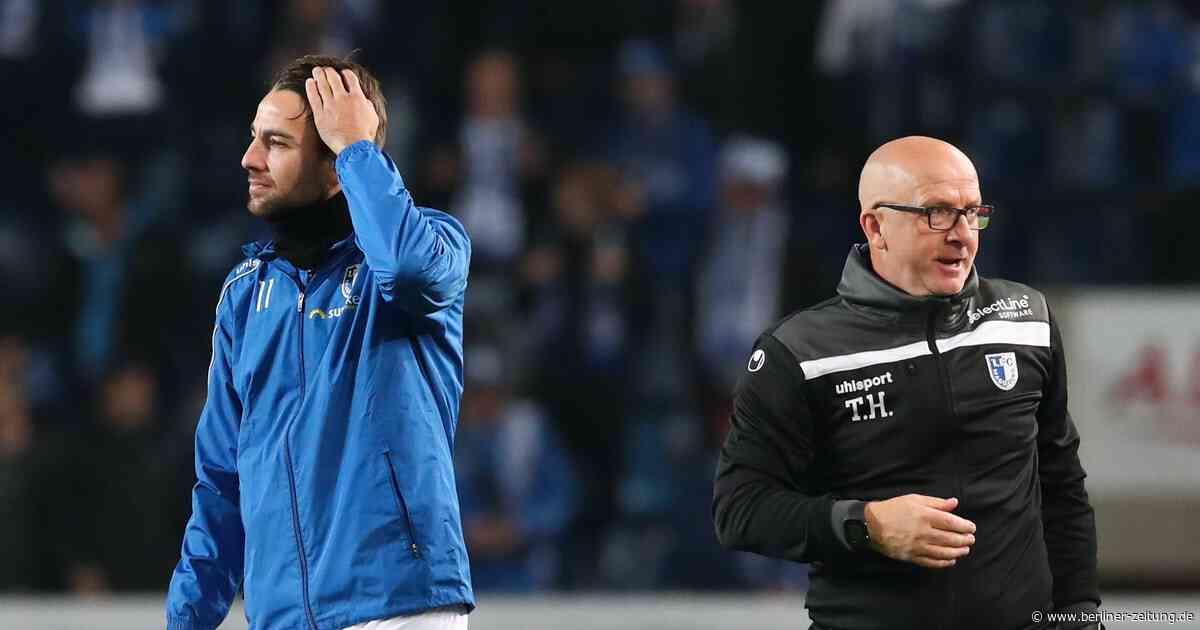 Thomas Hoßmang stürzt beim 1. FC Magdeburg über die Degradierung seiner Führungsspieler - Berliner Zeitung