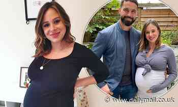 Pregnant Camilla Thurlow reveals she's 'a few days' overdue