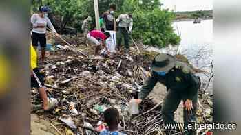 Retiran más de 400 kilos de residuos en las playas de Moñitos - EL HERALDO